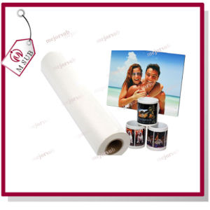 Inkjet 0.914*100m 100GSM Dye Sublimation Paper in Roll pictures & photos