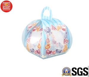 Full Colore Printed Plastic Candy Box, Candy Plastic Box for Weeding, Packaging/Box for Candy