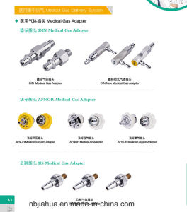 Hot Sale China Factory Different Standard Medical Gas Terminal/Outlet O2/Air/VAC pictures & photos