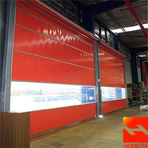 PVC Faric High Speed Roll Door (HF-K217) pictures & photos