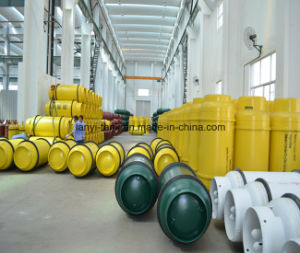 840L 10mm and 12mm Shell Thickness Welding Gas Cylinder for Trimethylamine Chemicals Gas