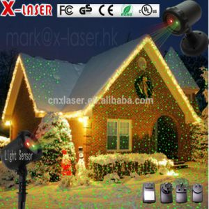 christmas decoration supplies new night star light garden red green laser projector
