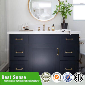 China Great Craftsmanship High End Solid Wood Bathroom Cabinets