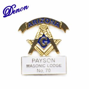 Payson Masonic Promotional Custom Lapel Enamel Pin