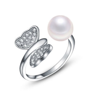 Hot Seal Alloy Pearls Jewelry Finger Ring pictures & photos