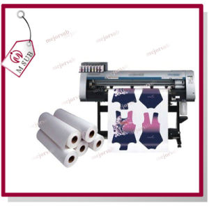 Inkjet 1.6*100m 100GSM Dye Sublimation Paper in Roll pictures & photos