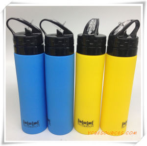 OEM 750ml Folding Travel Silicone Water Bottle (OS09021) pictures & photos