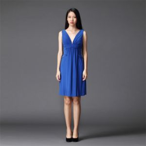 Women Chiffon Short Dress for Party and Prom (SD0056)
