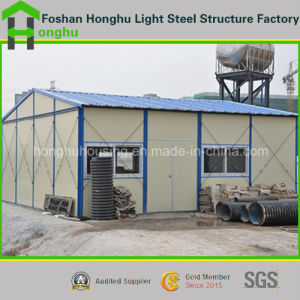 Prefabricated Modular House for Accomadation with Heat Insulation Sandwich Panel Wall pictures & photos