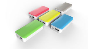 Young Style Portable Mobile Power with 3000mAh Capacity