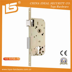 Double Bolt Mortise Lock Body (413058-50) pictures & photos