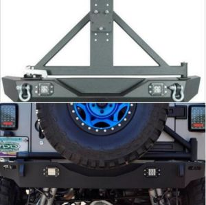 Rear Bumper with Lights for Jeep Wrangler Jk pictures & photos