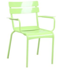 701b-H45-Alu Fermob Luxembourg Aluminum out Door Using Chair