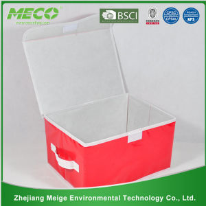 Foldable Non-Woven Fabric Toy Storage Box for Kids (MECO412) pictures & photos