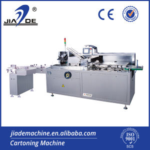 Automatic Bottle Cartoning Machine Wtih Hot Glue