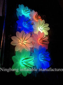Newest Party Lighting Flower Inflatable Flower for Decoration