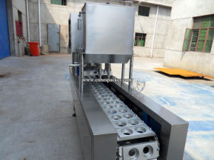 Automatic New Model Plastic Cup Lid Sealing Machine pictures & photos