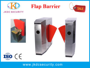 Security Crowd Access Control System Flap Barrier pictures & photos