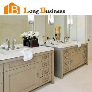 China Light Brown Lacquer Wood Vanities