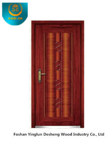 Classic Style Security Aromred Door with Red Brown Colour (b-3006) pictures & photos