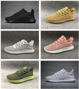 the latest e273b 6058b 2017 Tubular Shadow Knit Ultra Boost 350 Sneaker Men′s & Women′s Running  Fashion Sport Shoes All Black Whiite Gold