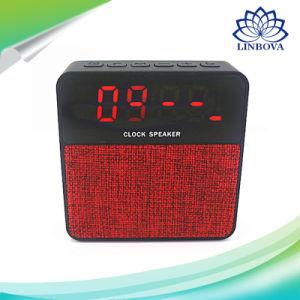 Portable Bluetooth Speaker Wireless Stereo Music Soundbox with LED Time Display Clock Alarm Loudspeaker