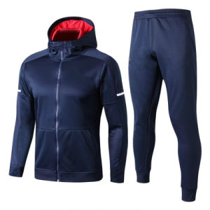 Mens Polyester School Uiform Dri Slim Fit Sport Soccer Fitted Velour Custom Latest Design Tracksuit