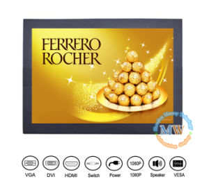 High Brightness 12 Inch TFT LCD Monitor with HDMI DVI VGA (MW-123MBH) pictures & photos