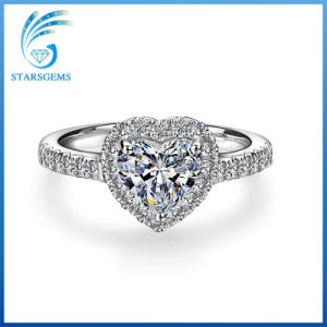 Heart Shape Brilliant Cut Vvs Clarity Fashion Style Moissanite Diamond Rings