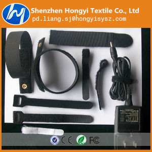 Eco-Friendly Nylon Hook and Loop Velcro Cable Tie for Wire pictures & photos
