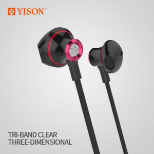 a34232b8d9d China Yison Ex720 Metal Earphone Stereo Headphone Good Sound Earbuds ...