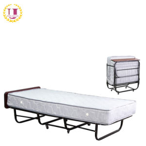 Folding Guest Bed With Spring Mattress