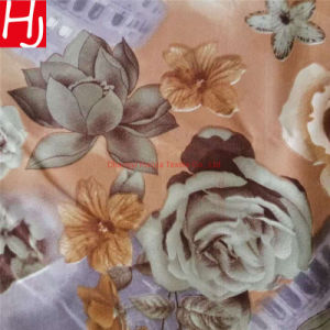 New Flower Design 100% Polyester Disperse Print Microfiber Woven Textile Fabric for Bed Sheet