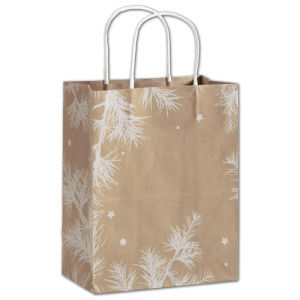 Large Classic Chevron Paper Shopper Packaging Bags pictures & photos