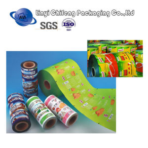 Laminated Film Printing, Printing Film for Plastic Packaging Roll pictures & photos