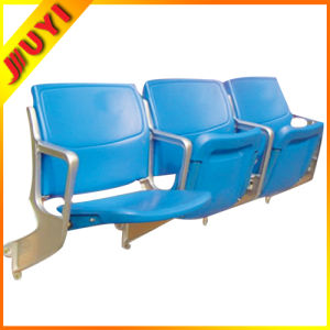 Blm-4152 Stadium Back Seats Modern Clear Parts Plastic with Steel Frame Metal Folding Chair pictures & photos