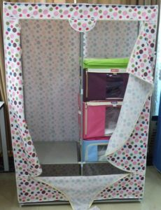 Directly Fabric Wardrobe Closet DIY Furniture (XS W13110)