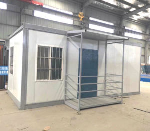 Low Cost Rockwool Sandwich Panel Folding Container House pictures & photos