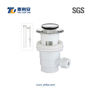 Economy Plastic Pop up Basin Waste with Road (T1040)