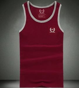 Custom Logo Mens Sleeveless Cotton Sports Tank Top pictures & photos