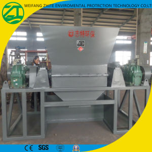 Double Shaft Shredder for Tire/Wood/Medical Waste/Fiber/Paper/Foam/Spring/Plastic Recycling pictures & photos