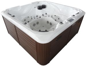 Freestanding Portable Massage Bathtub Outdoor SPA Hot Tub with Overflow for Hot Sell pictures & photos