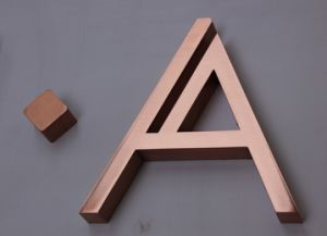 Custom Metal Signs Copper Letter Building Signs