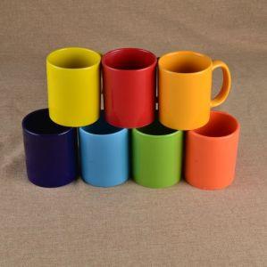 china wholesale customized colored glaze ceramic mugs with high