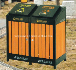Park Bins, Trash Bin, Dustbin for Public Place, Outdoor Dustbins FT-Ptb015