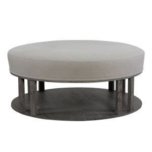 China Round Upholstered Coffee Table