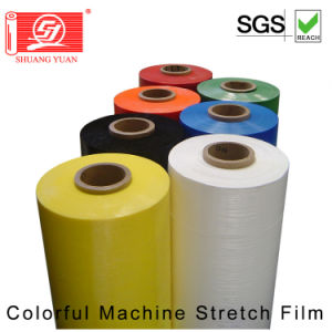 Competitive Price Colour Stretch Film 80 Gauge Machine Stretch Wrap pictures & photos