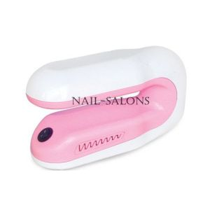Nail Art 9W Pink Color UV Lamp For Both Hand And Foot Gel Cure Lamp Nail