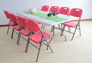 Meeting Dining Banquet Plastic Folding Table pictures & photos