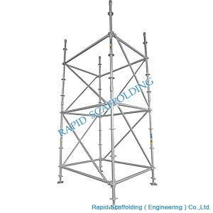 Hot DIP Galvanized Octagonlock System Scaffolding pictures & photos